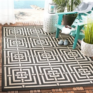 Safavieh Courtyard Ginger Indoor/ Outdoor Rug