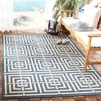Safavieh Courtyard Ginger Indoor/ Outdoor Rug