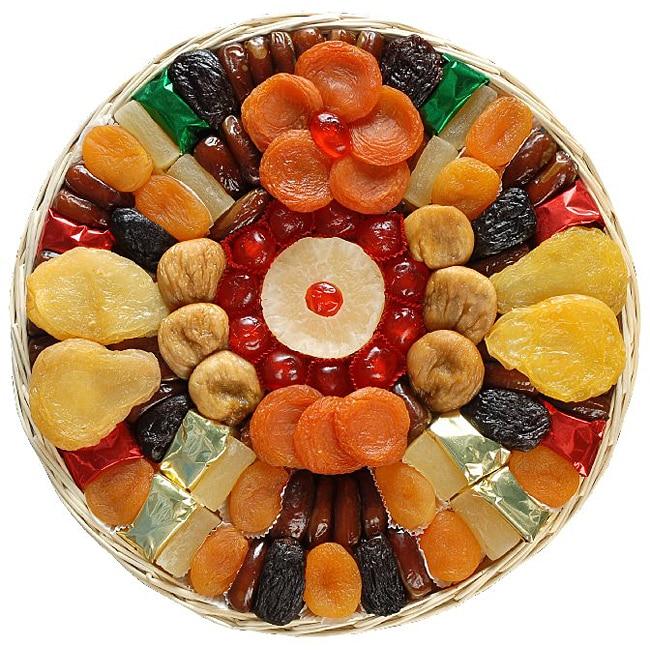 Golden Burst - Dried Fruit Basket