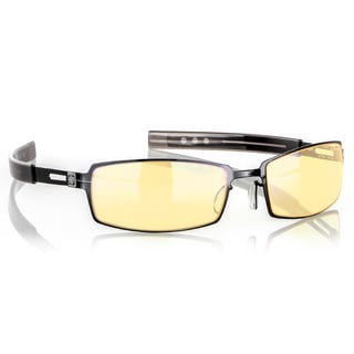 Gunnar 'PPK Gloss' Onyx Amber Full Rim Advanced Video Gaming Glasses