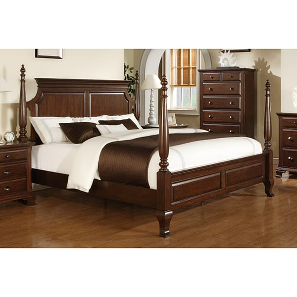 Picket House Torino King Poster Bed