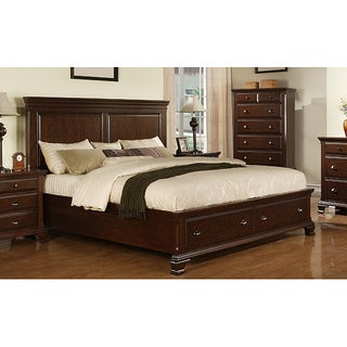 Picket House Furnishings Brinley Cherry Queen Storage Bed