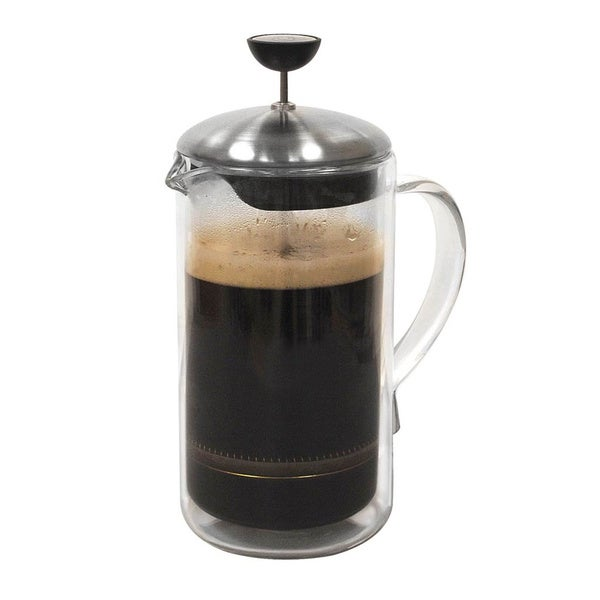 Primula 8-cup Double Wall Glass Coffee Press