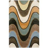 Safavieh Handmade Chatham Voyage Multi New Zealand Wool Rug - 2'6 x 4'
