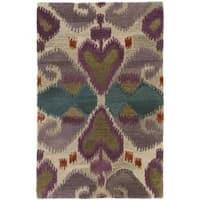 Safavieh Handmade Reflections Ivory New Zealand Wool Rug - 2'6 x 4'