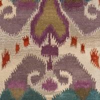 "Safavieh Handmade Reflections Ivory New Zealand Wool Rug - 2'3"" x 9'"