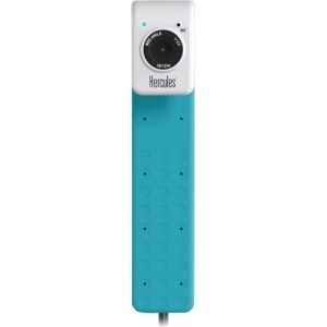 Hercules HD Twist Webcam - 30 fps - Turquoise - USB 2.0