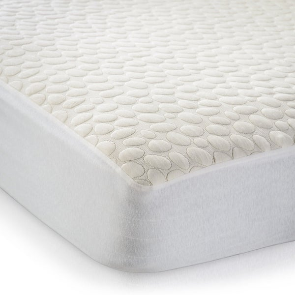 Very Helpful Crib Mattress Pad Shop Christopher Knight Home My Little Nest Organic Waterproof Crib  Mattress Cover - White - On Sale - Free Shipping Today - Overstock - 6682203