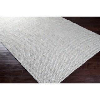 Hand-woven Grey Japays Natural Fiber Jute Area Rug (5' x 8')