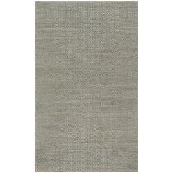 Hand-woven Gray Tropics Natural Fiber Jute Braided Texture Rug (8' x 11')