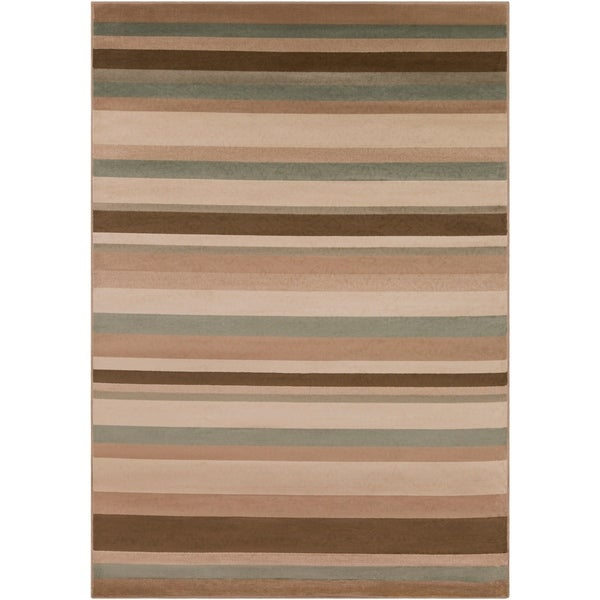 "Woven Tan Parrish Area Rug - 7'9"" x 11'2"""