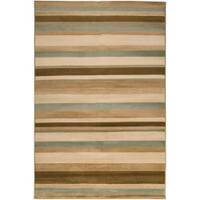 Woven Tan Parrish Area Rug (5'3 x 7'6)
