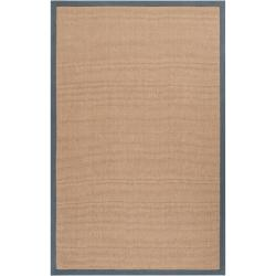 Hand-woven Gray Sophie A Natural Fiber Jute Area Rug (8' x 10') - Thumbnail 0