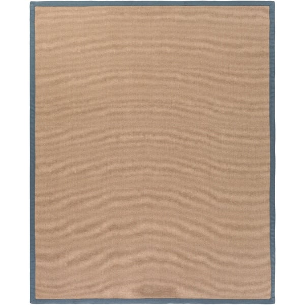 Hand-woven Gray Sophie A Natural Fiber Jute Area Rug - 8' x 10'