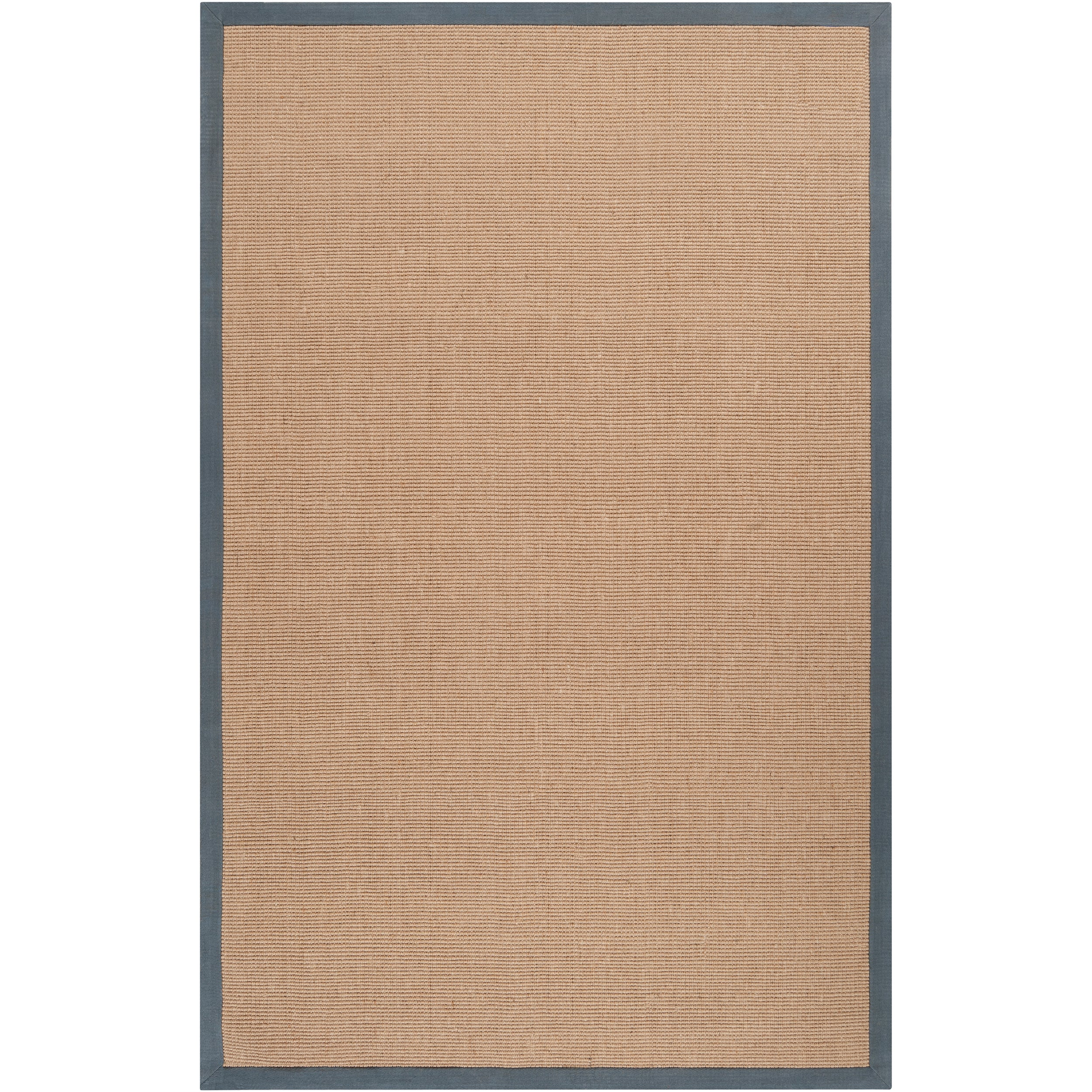 Hand-woven Gray Sophie A Natural Fiber Jute Area Rug (5' x 8')