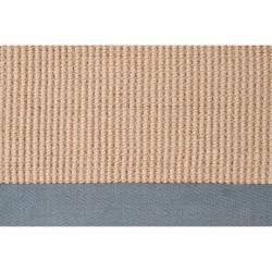 Hand-woven Gray Sophie A Natural Fiber Jute Rug (5' x 8') - Thumbnail 2