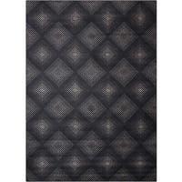 Nourison Utopia Black Abstract Rug - 2'6 x 4'2
