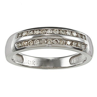 10k Gold 1/4ct TDW Diamond Wedding Band (J-K, I2-I3)