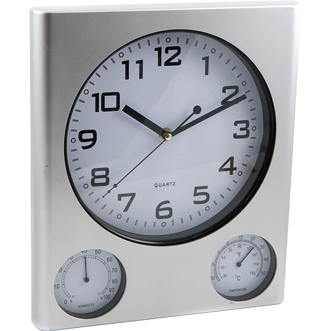 Premium Outdoor Clock and Weather Station