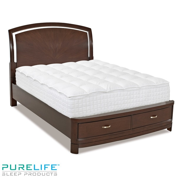 PureLife Vida 11.5-inch King-size Memory Foam Mattress