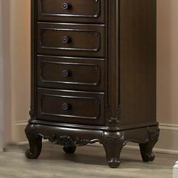 TRIBECCA HOME Fairytale Victorian Princess Dark Brown 7-drawer Tall Chest