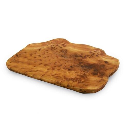 Handmade Enrico Root Wood Cheese Board (China)