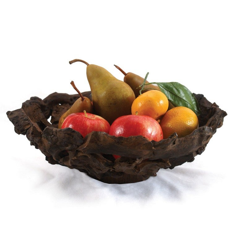 Enrico Large Driftwood Fruit Bowl (Thailand)