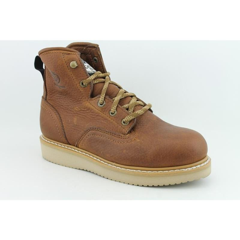 "Georgia Men's 6"" Wedge Brown Occupational - Thumbnail 0"