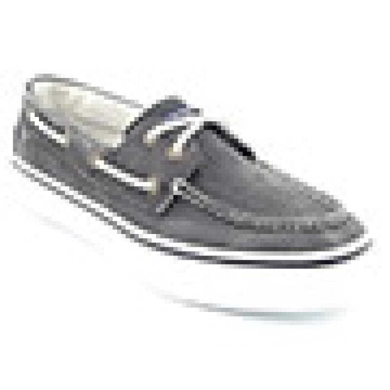 Sperry Top Sider Men's Bahama Gray Casual - Thumbnail 2
