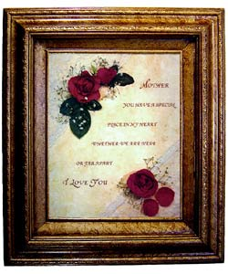 Mother's Gift Framed Canvas Art