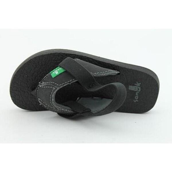 Sanuk Youth's Aftershock Black Sandals