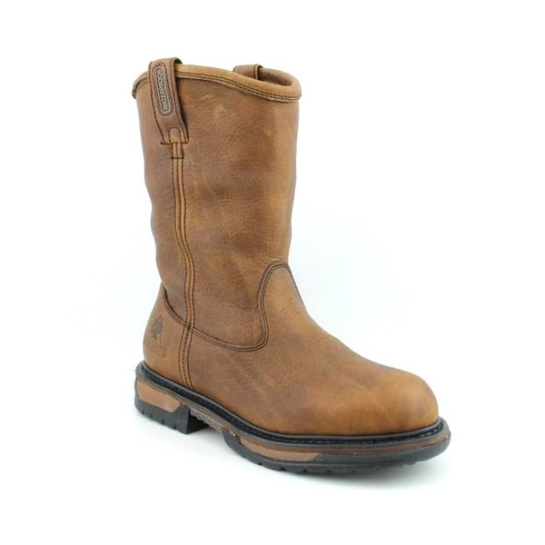 "Rocky Men's IronClad Wellington 11"" Brown Boots"