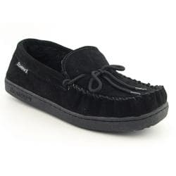 Bearpaw Men's Moc II Black Slippers