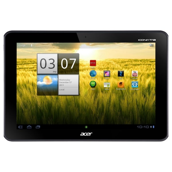 "Acer ICONIA Tab A200 32 GB Tablet - 10.1"" 16:10 Multi-touch Screen -"