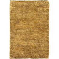 Safavieh Hand-knotted Vegetable Dye Solo Carmel Hemp Rug (3' x 5')