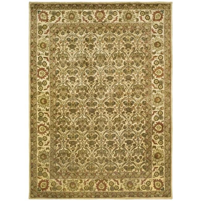 Safavieh Handmade Treasured Gold Wool Rug - 7'6 x 9'6