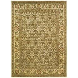 Safavieh Handmade Treasured Gold Wool Rug - 7'6 x 9'6 - Thumbnail 0