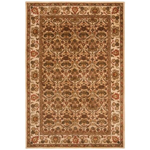 "Safavieh Handmade Treasured Gold Wool Rug - 7'6"" x 9'6"""