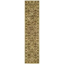 "Safavieh Handmade Treasured Gold Wool Rug - 2'3"" x 12' - Thumbnail 0"
