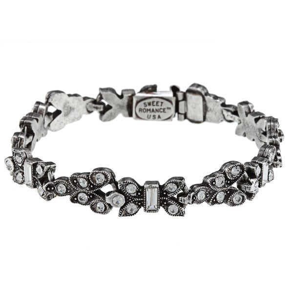Sweet Romance Deco Crystal Bracelet