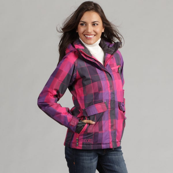 Scott Women's Caprice Plaid Ski Jacket