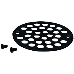 Belle Foret Oil Rubbed Bronze Shower Strainer with Screws