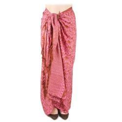 Women's Whimsical Printed Sarong (India)