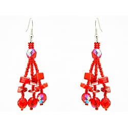 Luzy Red Handmade Earrings (Guatemala)|https://ak1.ostkcdn.com/images/products/6689121/Luzy-Red-Handmade-Earrings-Guatemala-P14243802.jpg?impolicy=medium