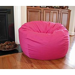 Ahh Products Hot Pink Organic Cotton Washable Bean Bag