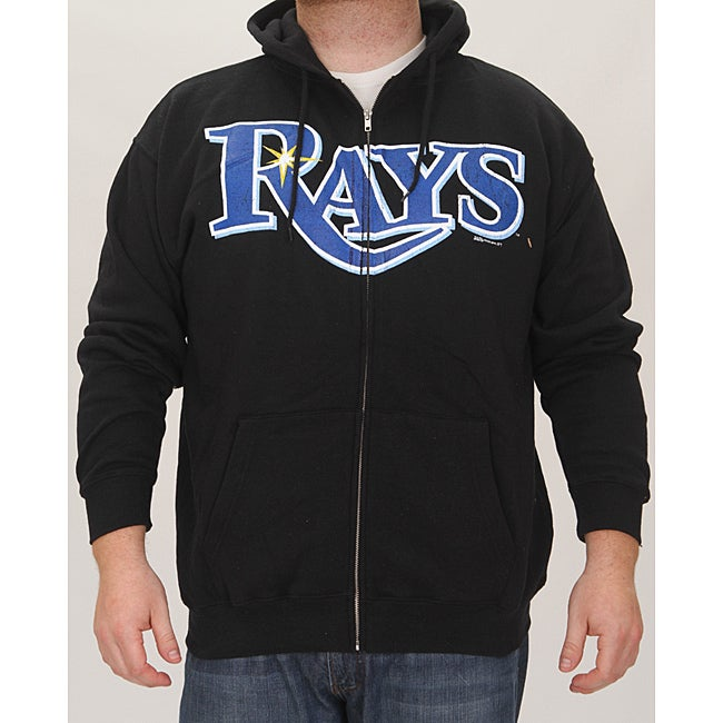 Stitches Men's Tampa Bay Rays Full Zip Hoodie - Thumbnail 0