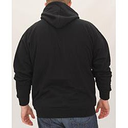 Stitches Men's Miami Marlins Full Zip Hoodie - Thumbnail 1
