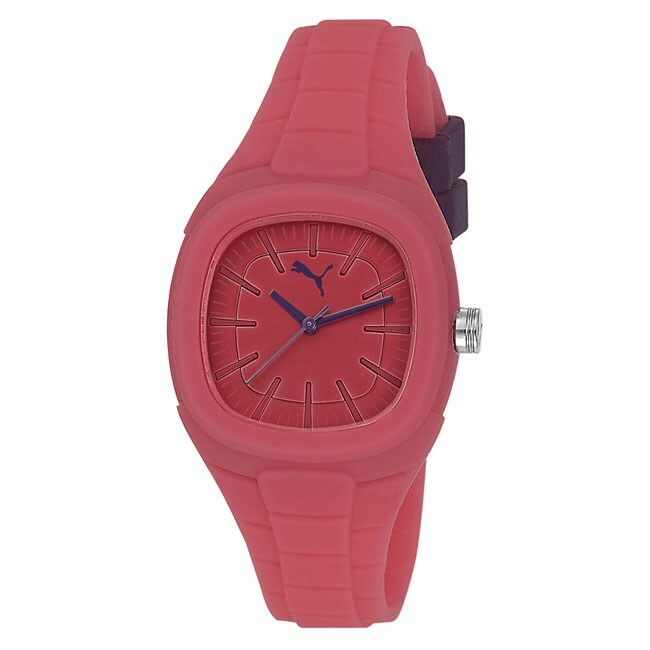 Puma Women's PU102882006 'Bubble Gum S' Pink Watch