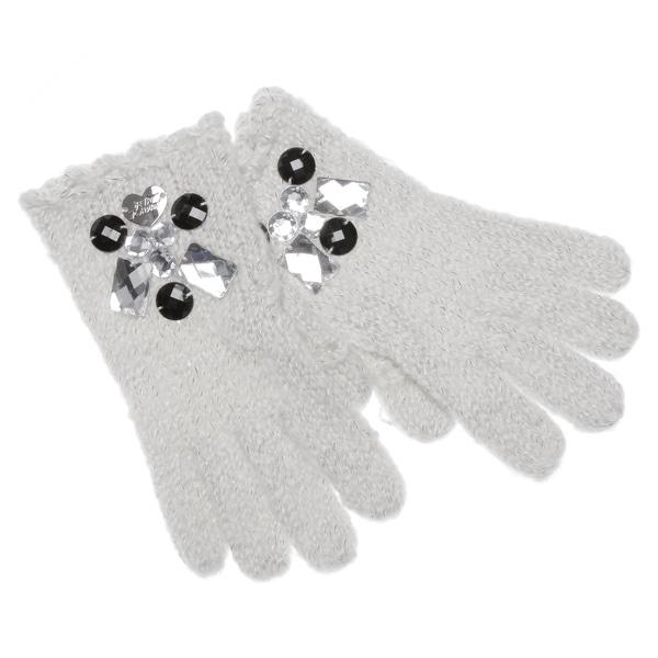 Betsey Johnson Women's Ice Princess Texting Gloves