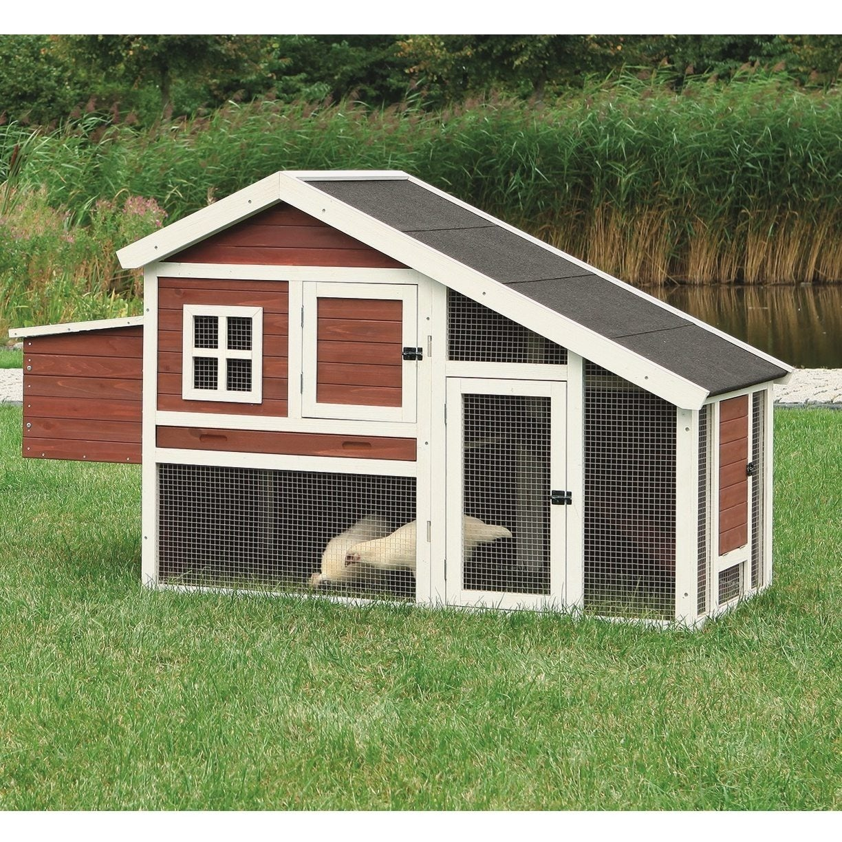 Shop TRIXIE Chicken Coop with a View - Overstock - 6689406